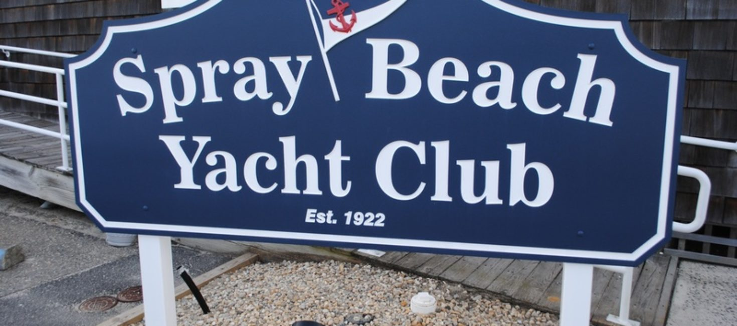 Spray Beach Yacht Club in Beach Haven LBI