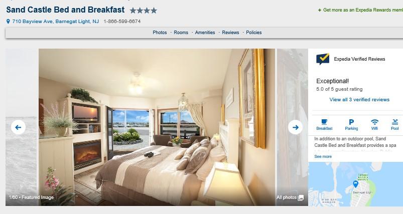 Best LBI Hotels 2019 - Sand Castle in Barnegat Light