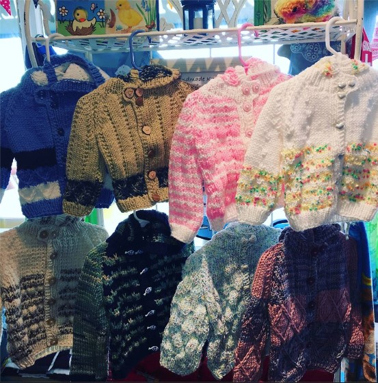 Hand Knitted Sweaters - Little Chicks Shop LBI