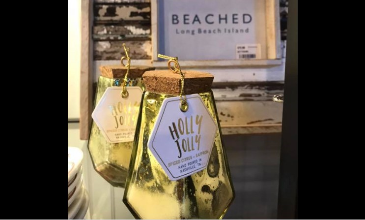 Holly Jolly Candles - Beached LBI